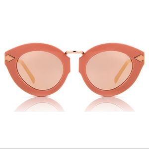 Karen Walker Lunar Flowerpatch Mirrored Sunglasses